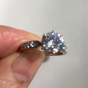 18k GF Diamond wedding ring